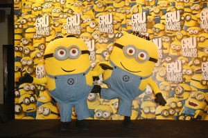 Minions en la presentacin de Gru en Madrid