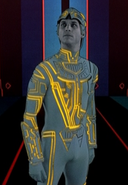 Jeff Bridges es CLU en Tron (1982)