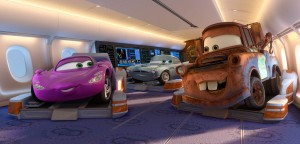 Mate y Holly en CARS 2