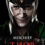 Cartel personaje LOKI (Tom Hiddleston)