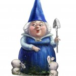 LADY BLUEBURY de Gnomeo y Julieta