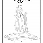 Juego Rapunzel (Enredados) - une los puntos