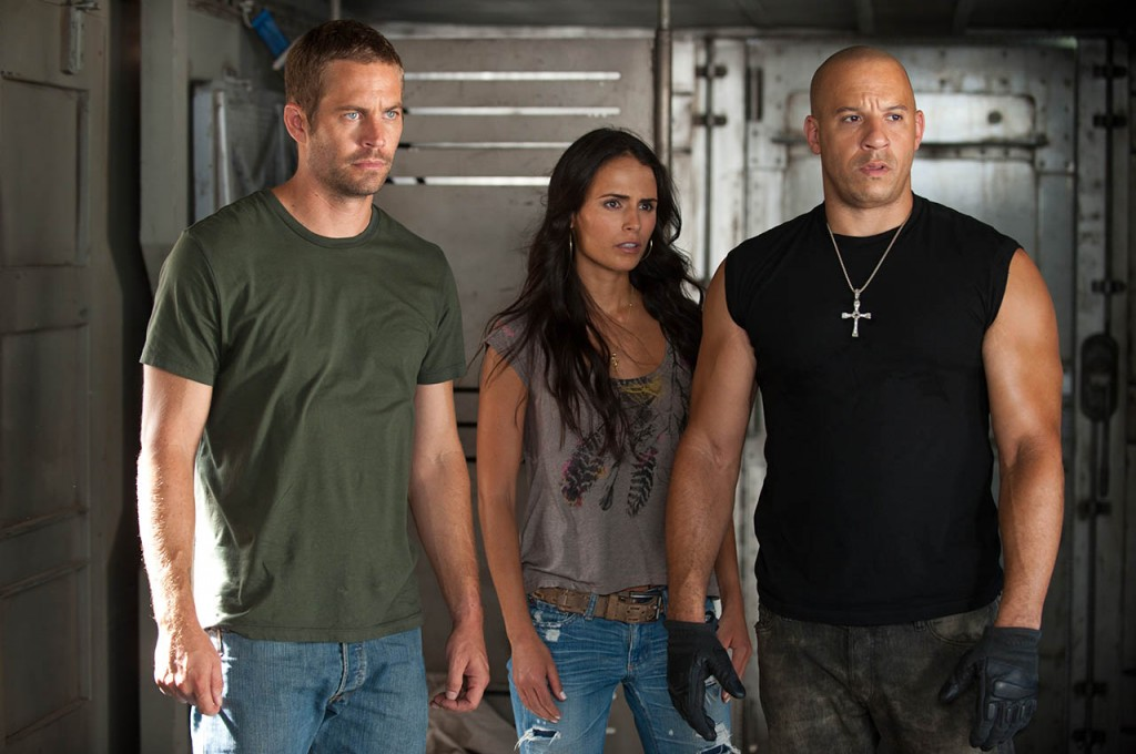 Vin Diesel y Paul Walker en A TODO GAS 5