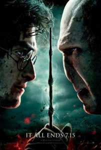 Cartel HARRY POTTER Y VOLDEMORT