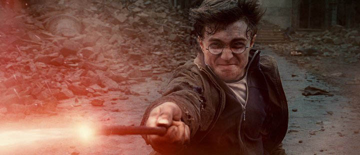 Foto Harry Potter en la batalla final