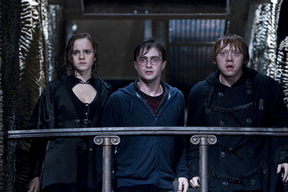 Foto HARRY POTTER RELIQUIAS 2 - Hermione, Harry y Ron