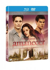Cartula AMANECER PARTE 1 Blu-Ray