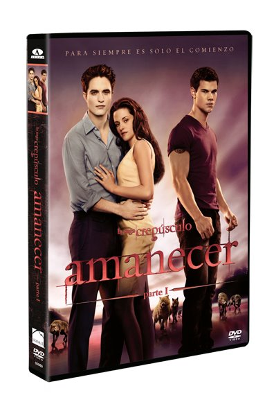 CARATULA DVD AMANECER PARTE 1