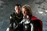 Foto Chris Hemsworth y Tom Hiddleston en Thor