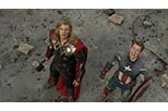 Foto Steve Rogers / Captain America y Thor en Los vengadores de Steve Rogers / Captain America y Thor