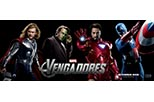 Banner promocional Los vengadores