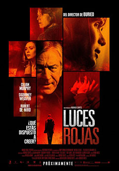 Cartel Luces rojas