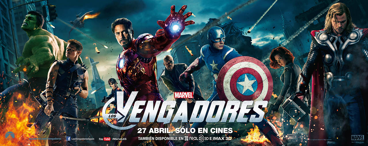 Fotos LOS VENGADORES PELICULA