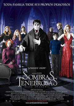 Cartel Sombras tenebrosas