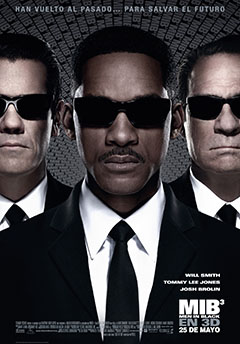 Cartel Men in black 3 (Hombres de negro 3)