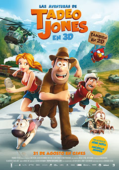 Cartel Las aventuras de Tadeo Jones