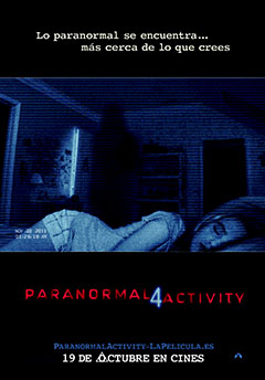 Cartel Paranormal Activity 4