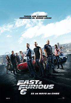 Cartel FAST AND FURIOUS 6