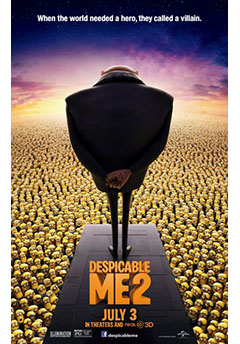 Cartel GRU 2 MI VILLANO FAVORITO