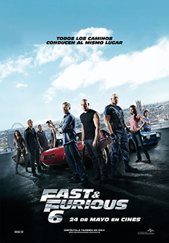 Cartel Fast and Furious 6 (A todo gas 6)