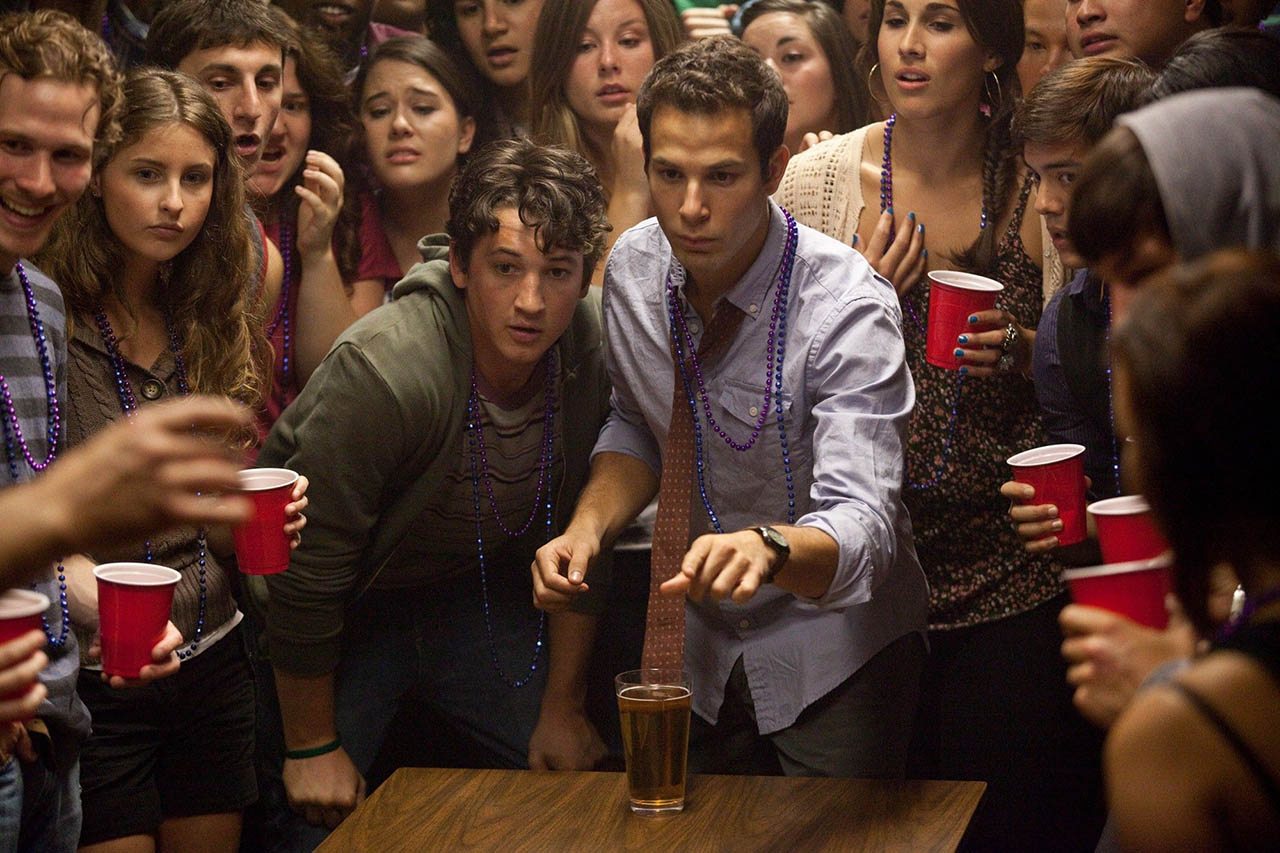Foto Miles Teller y Skylar Astin en 21 and Over