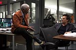 Foto Johnny Depp y Morgan Freeman en Transcendence