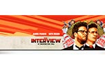 Cartel banner The Interview