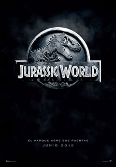 Cartel Parque Jurásico 4: Jurassic World
