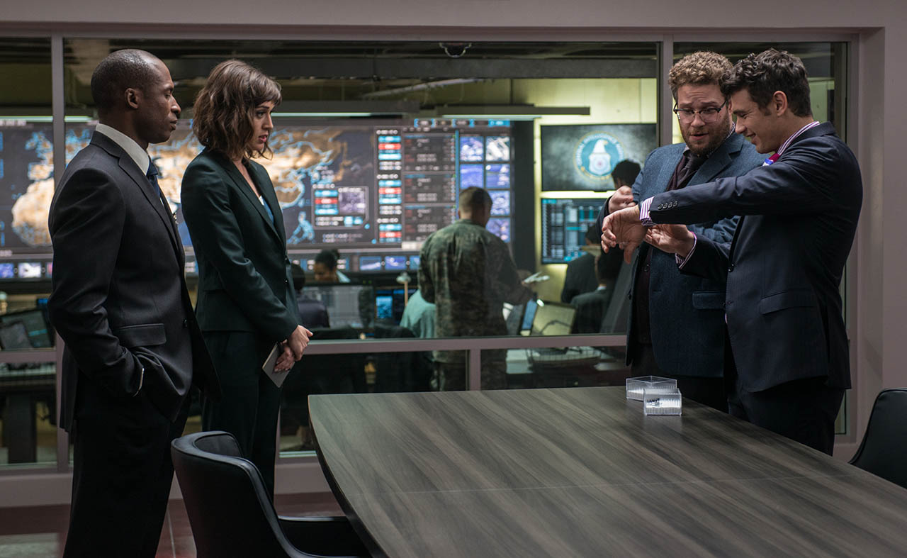 Foto James Franco y Seth Rogen en The Interview 6