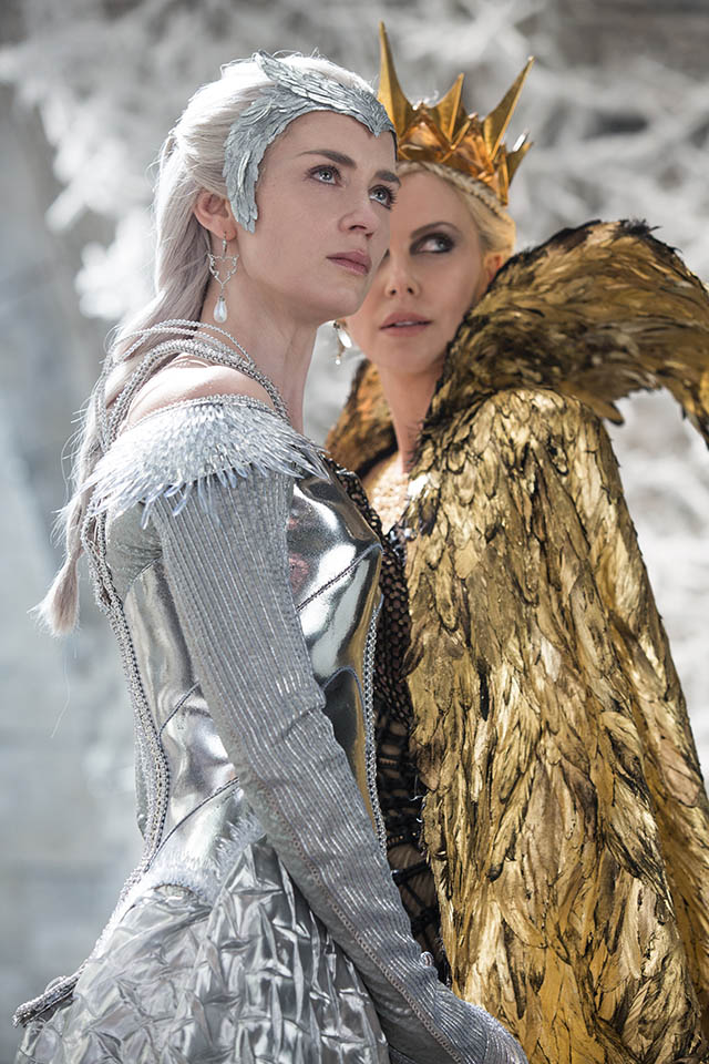 Foto Emily Blunt y Charlize Theron