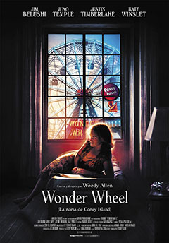Cartel Wonder Wheel (La noria de Coney Island)